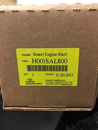 - SUBARU Genuine H001SAL800 Remote Engine Start - Push Button, 1 Pack