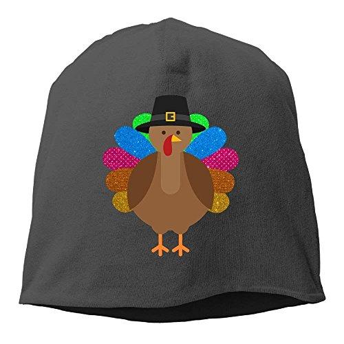 Skull Rainbow Soft Beanies Hat Gorras Turkey Cap Stretch béisbol ruishandianqi Glitter Unisex Hedging Black Knit Cap qPwUtU8xT
