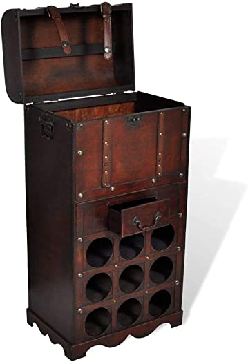 Festnight Retro Wine Rack