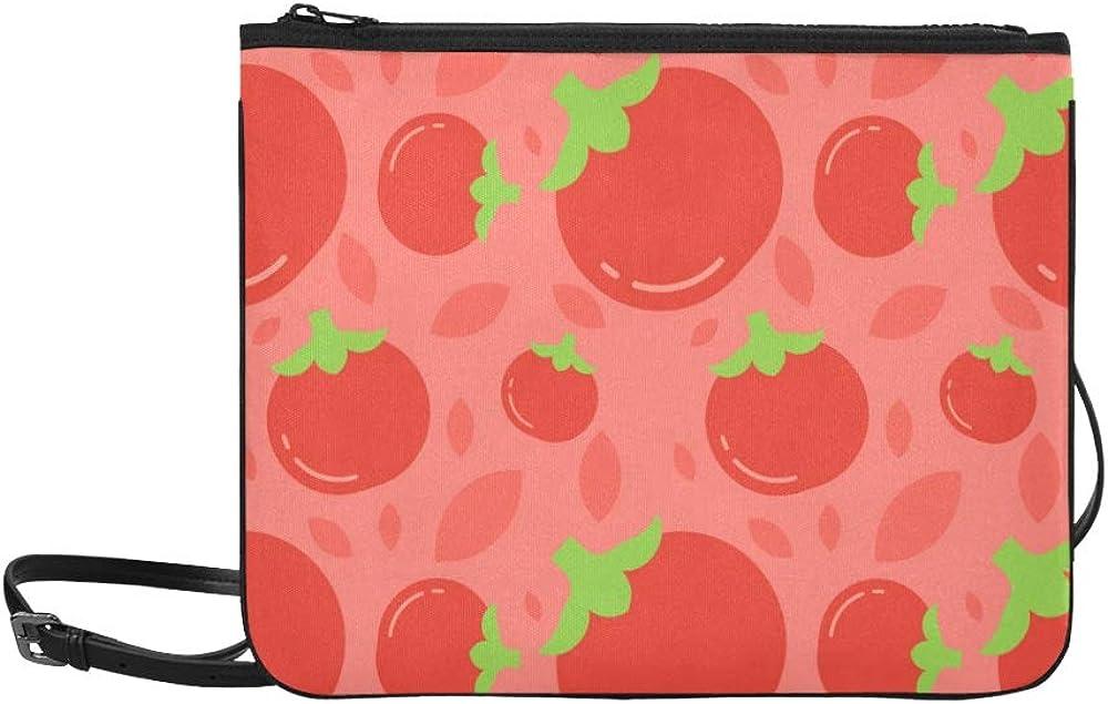 Handbags Tote Cute Fashion Fruit Vegetables Tomatoes Adjustable Shoulder Strap Day Handbag For Women Girls Ladies Bags Crossbody Crossbody Handbags