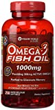 Vitamin World Omega-3 Fish Oil 1000 Mg., 250 Softgels (250)