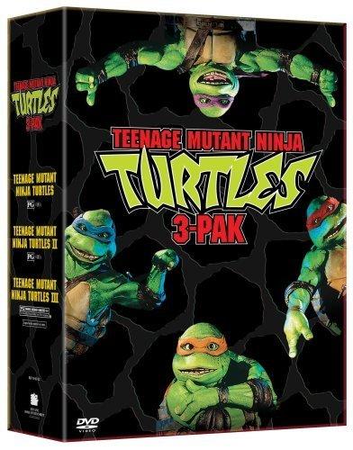 Teenage Mutant Ninja Turtles Three Pack (Teenage Mutant Ninja Turtles/Teenage Mutant Ninja Turtles II - The Secret of the Ooze/Teenage Mutant Ninja Turtles III) by New Line Home Video (Movie New Ninja Turtles)