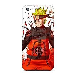 [tgY17672DOeh]premium Phone Case For Iphone 5c/ Naruto Tpu Case Cover