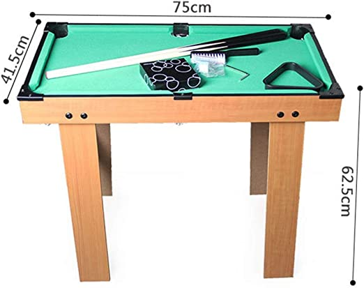 Billar Snooker Plegable For Adultos Tabla niños Mini-Piscina de ...