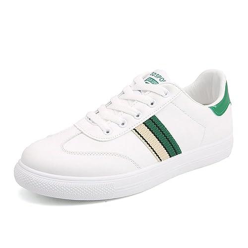 Zapatillas de Deporte Casuales para Hombre Zapatillas con Cordones Zapatillas de Running Confortables y Transpirables Zapatillas