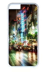 City Streets Custom iphone 4/4s inch Case Cover Polycarbonate White
