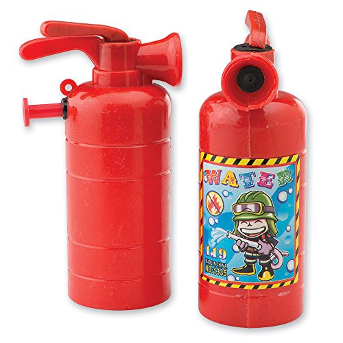 SmileMakers Fire Extinguisher Squirters - Toy 24 per Pack]()