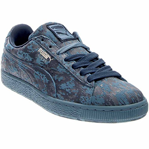Puma Heren Suede Classic Iced Rubber Mix Fashion Sneakers Blauw