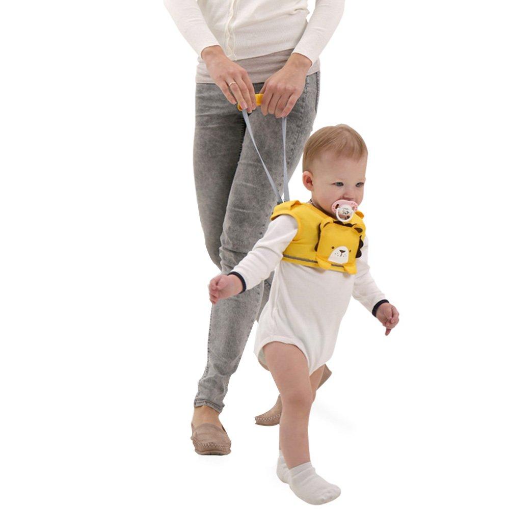 iBaste Lauflernhilfe Gehhilfe f/ür Baby Stehen und Gehen Lernen Helfer f/ür Kinder