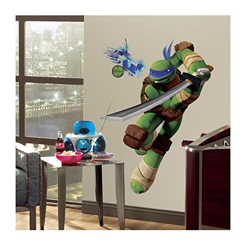 - Tmnt Leo Giant Wall Wall Decals