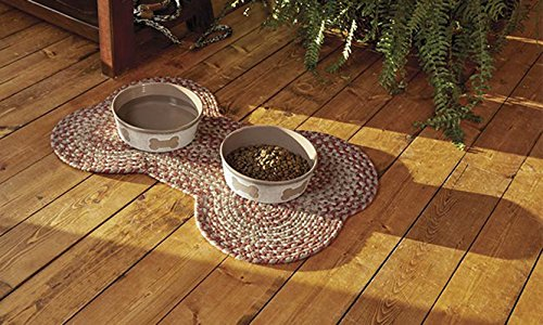 Orvis Dog Bone Indoor/Outdoor Mat, Terracotta