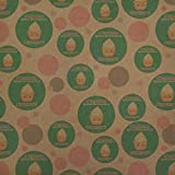 Stressed Spelled Backwards is Desserts Funny Premium Kraft Gift Wrap Wrapping Paper Roll