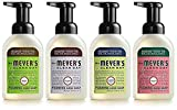 Mrs. Meyers Clean Day 4-Piece Foaming Hand Soap Variety Pack (10 oz Each)