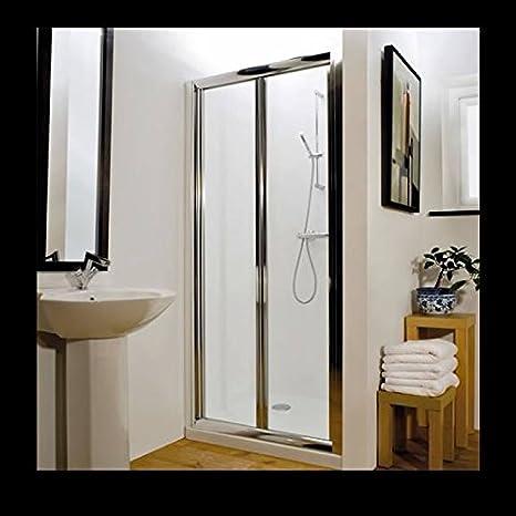 Hudson Reed AQBD7 Reversible plegable para mampara de ducha de ruedas vidrio multicapas de ducha cabina de cristal ypao espacio de baño: Amazon.es: Bricolaje y herramientas