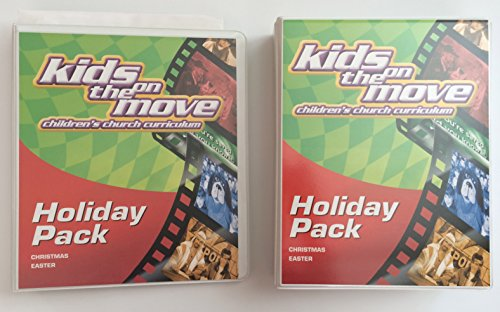 Kids on the Move Children's Church Curriculum Holiday Pack, Christmas Easter (2002 Copy) (Kids On The Move Childrens Church Curriculum)