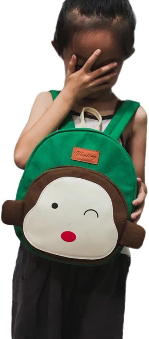 4Clovers Cartoon Monkey Animal Backpack Toddler School Bag