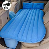 Premium Quality Car Travel Back Seat Inflatable Air Mattress - 2 Air Pillows,2 Air Piers,1 Travel Neck Pillow,mattress and Piers can be separated so mattress can be used like a normal camping mattress