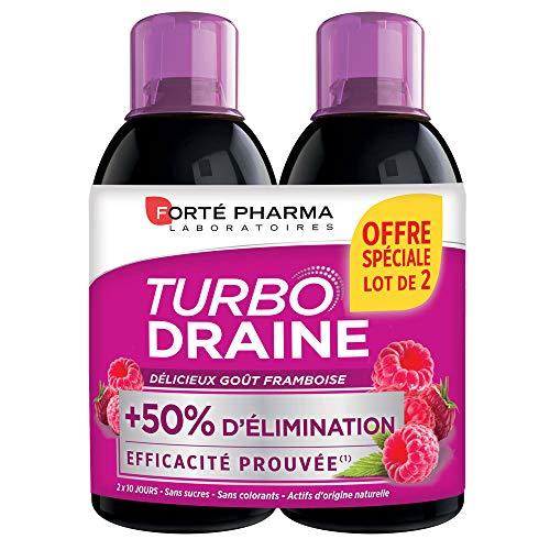 Forté Pharma Turbodrain Slimmer 2X500Ml - Taste: Raspberry