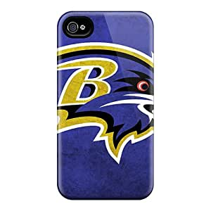 Iphone 4/4s Wfz11950NlYq Provide Private Custom Fashion Baltimore Ravens Pictures Protector Hard Phone Cases -ErleneRobinson