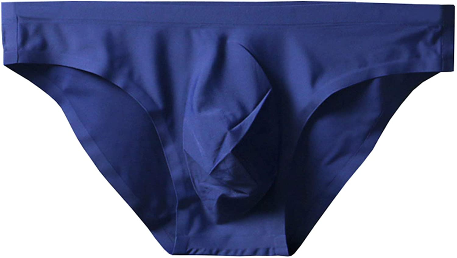 ONEFIT Mens Briefs Seamless Triangle Panties Ice Silk Low Waist Fast Dry Shorts