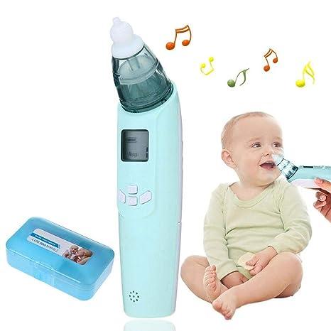 DONGBALA Aspirador Nasal eléctrico, Limpiador de Nariz para bebés ...