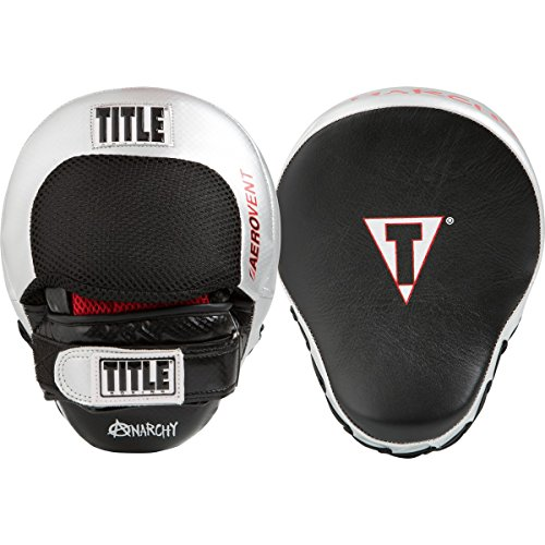 TITLE Aerovent Anarchy Punch Mits, Black/Silver
