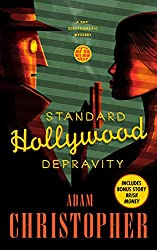 Standard Hollywood Depravity by Adam Christopher science fiction book reviews