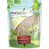 Food to Live Organic Sunflower Seeds (Raw, No Shell, Kosher) (8 Ounces)