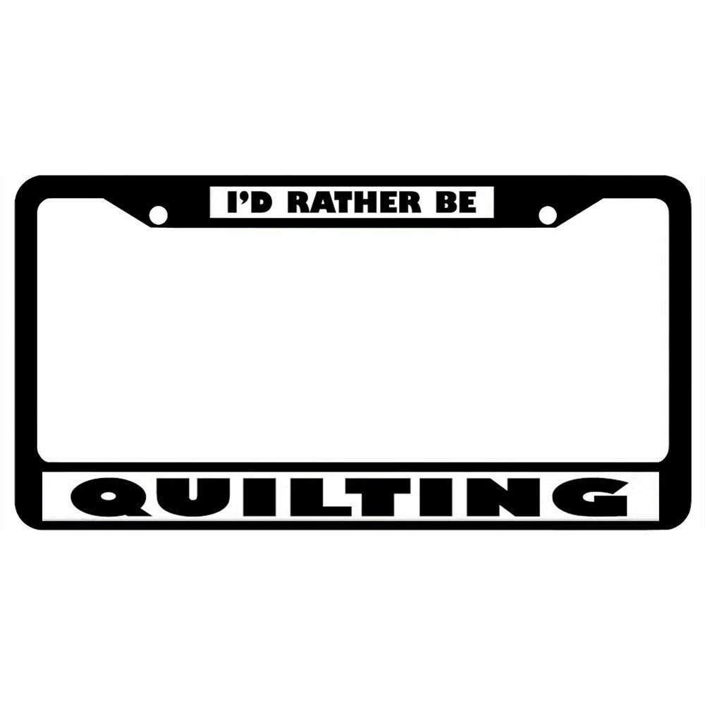 Durable Stainless Steel License Plate Holder for Standard US Vehicles AllCustom4U Customized Car License Plate Frame Funny Humor