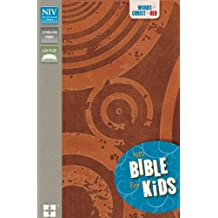 NIV, Bible for Kids, Imitation Leather, Brown, Red Letter: Red Letter Edition
