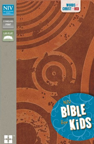 NIV, Bible for Kids, Leathersoft, Brown, Red Letter: Red Letter Edition