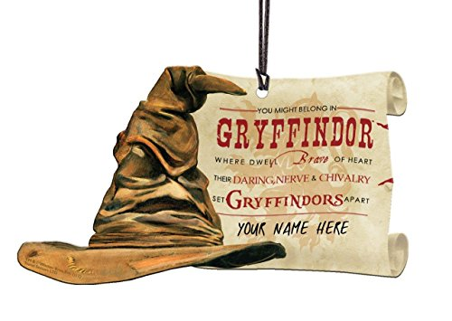 Harry Potter Sorting Hat Gryffindor Personalized