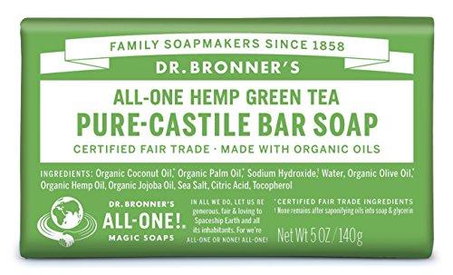 Magic green tea soap bar 140g