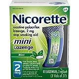 Nicorette 2mg Mini Nicotine Lozenges to Quit