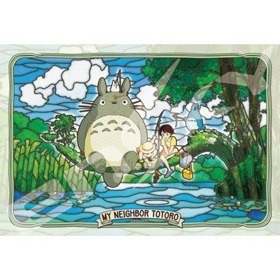 Fishing with Totoro Jigsaw Puzzle 300 pieces Studio Ghibli My Neighbor Totoro (Japan Import)
