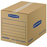 Bankers Box SmoothMove Basic Moving Boxes, Small, 16 x 12 x 12 Inches, 15 Pack (7713802