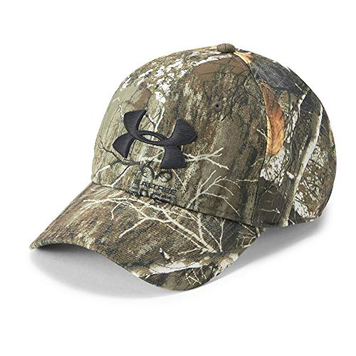 Under Armour Men's Camo Cap 2.0, Realtree Edge (991)/Black, One Size (Cap Adjustable Camoflauge)