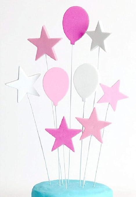 Sugar And Cakes Cake Topper Personalised Cupcake Girls Birthday