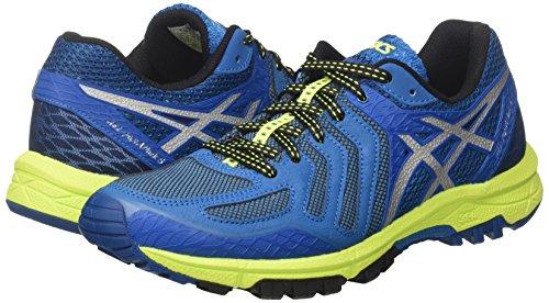 Gel safety Uomo fujiattack Blue Trail thunder 5 Blu Da Scarpe silver Running Asics Yellow 6dx0R6