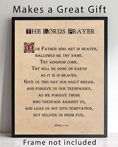 The Lords Prayer Wall Art, 11