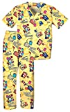 Tooniforms 6620C Youth's V-Neck Top and Pant Scrub Set Book Smart Large