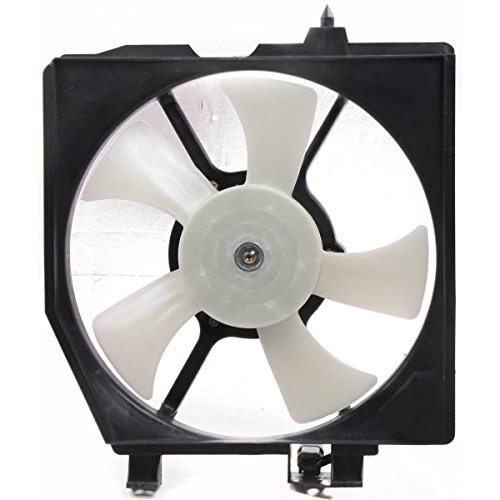 A/C Condenser Cooling Fan For 99-2000 Mazda Protege For Models w/AC Right Side -