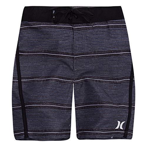 Alternating Stripe Tie - Hurley Boys' Little Board Shorts, Black Shoreline, 5