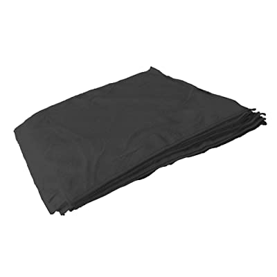 "Towels by Doctor Joe Ultra-82 Black Professional Heavy Duty Microfiber Towel 16"" x 16"" - 12 Pack: Automotive"