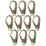 Fusion Climb Inifinity Alloy Steel Captive Eye Drop Forged Double Lock Rebar Hook 10-Pack