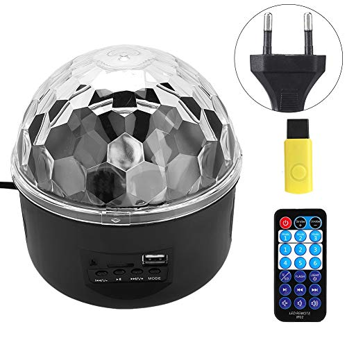 (koulate LED Disco Ball Party Lights, Strobe Light Sound Activated DJ Lights Stage Lights for Club Party Birthday (with Remote))