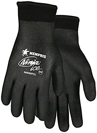 Memphis n9690fc Ninja hielo mecánico/guantes de pesca de ...