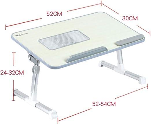 Mesa para Ordenador Plegable Soporte para Laptop Portátil de ...