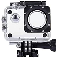 TEKCAM Professional SJ4000 WIFI Waterproof Case Protective for AKASO EK7000 EK5000 1080P/ Vikeepro 2.0 inch/ Vtin 4K Waterproof Sport Action Camera