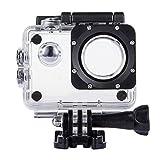 TEKCAM Professional SJ4000 WiFi Waterproof Case Protective Compatible with AKASO EK7000 EK5000/DBPOWER/Prymax 4K/COOAU/GeeKam/RUNME R2 Waterproof Sport Action Camera